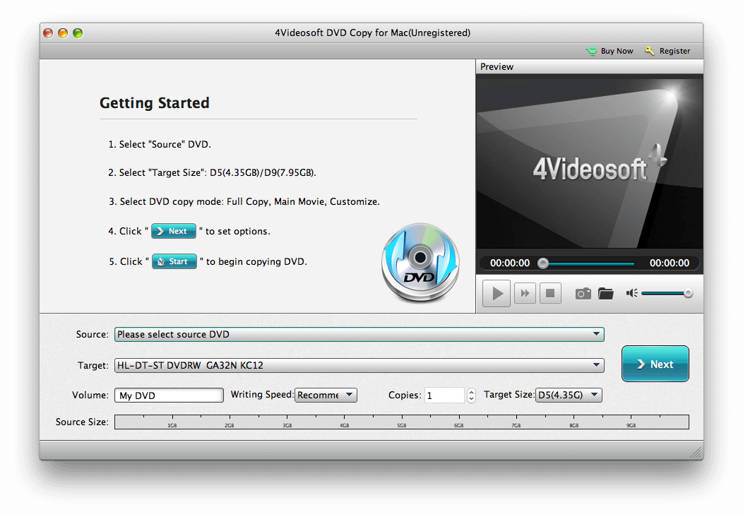 Free download of the best DVD Copy Software for MAC