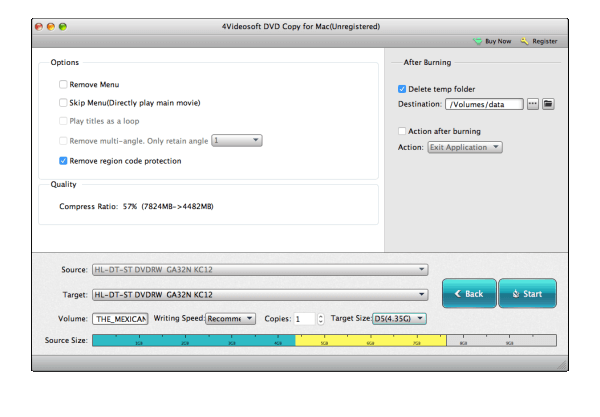 How to copy a DVD on a MAC OSX - User guide