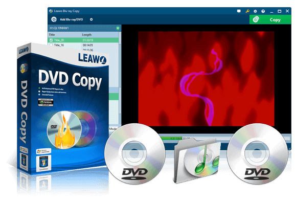 FREE download of Leawo DVD Copy - Powerful DVD Copy software to copy protected DVD