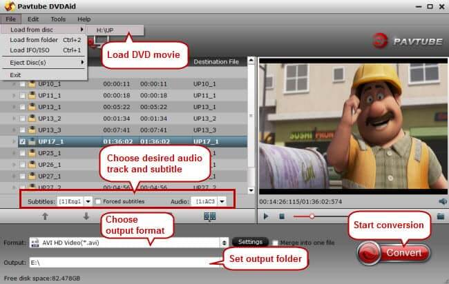 FREE download of Pavtube DVD Ripper - Powerful DVD Ripper software to rip protected DVD
