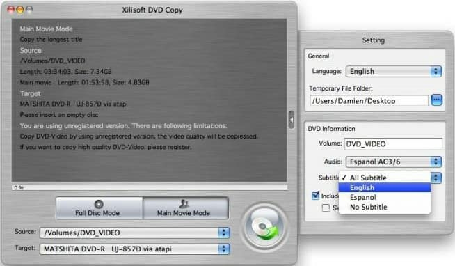 FREE download of Xilisoft DVD Copy 2 software